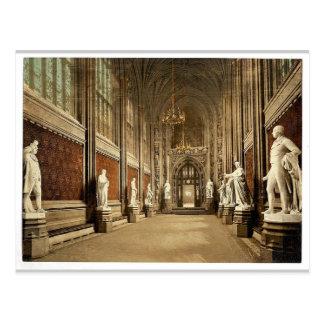 Casas del parlamento, Pasillo de St Stephen (inter Postales