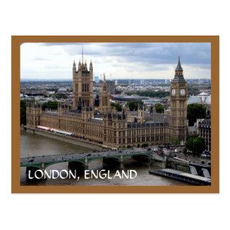 Casas del parlamento tarjetas postales