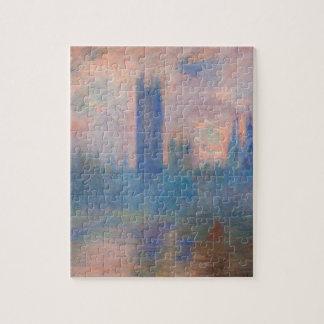 Casas del parlamento, Westminster de Claude Monet Puzzle