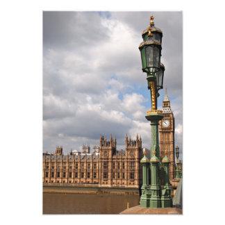 Casas del parlamento y de Big Ben en Londres Foto