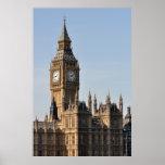 Casas del parlamento y de Big Ben Reino Unido Impresiones