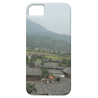 casas del prado del cielo del campo iPhone 5 funda