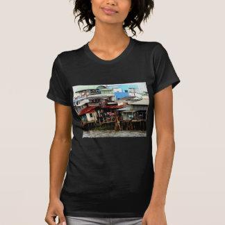 Casas del río Mekong Camisas