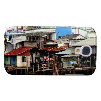 Casas del río Mekong