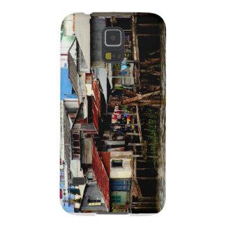 Casas del río Mekong Funda Para Galaxy S5