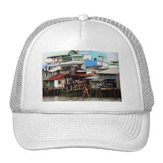 Casas del río Mekong Gorro
