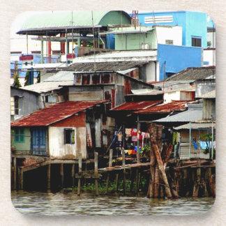 Casas del río Mekong Posavaso