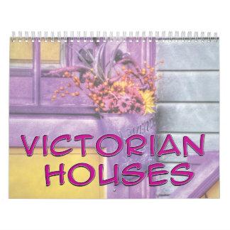 Casas del Victorian Calendarios