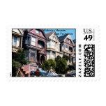 Casas del Victorian del franqueo de San Francisco