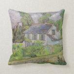 Casas en Auvers - Van Gogh (1890) Almohadas