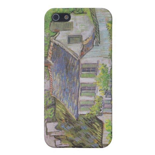 Casas en Auvers - Van Gogh (1890) iPhone 5 Coberturas