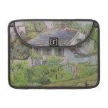 Casas en Auvers - Van Gogh (1890) Funda Macbook Pro