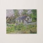 Casas en Auvers - Van Gogh (1890) Puzzles Con Fotos
