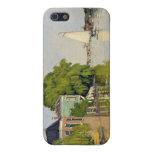 Casas en el Achterzaan - Claude Monet iPhone 5 Cárcasa