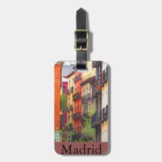 Casas en Madrid Etiquetas De Maletas