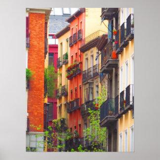 Casas en Madrid Poster