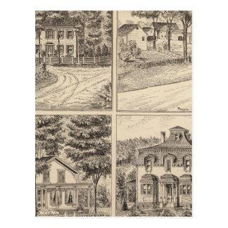 Casas en Sudbury y Danby Tarjeta Postal