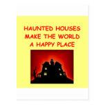 casas encantadas postales