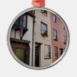 Casas históricas ornamento para arbol de navidad