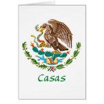 Casas Mexican National Seal Cards
