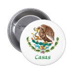 Casas Mexican National Seal Pins