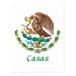 Casas Mexican National Seal Postcards