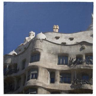 Casas Milà Barcelona Servilletas
