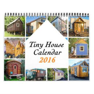 Casas minúsculas 2016 ($25) caridades calendario de pared