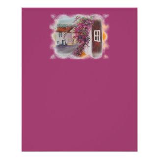 casas típicas de Alentejo Flyer A Todo Color