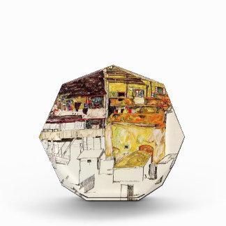 Casas viejas de Egon Schiele- en Krumau