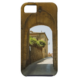 Casas vistas a través de una arcada, Porta Franca, iPhone 5 Carcasas