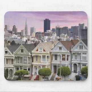 Casas y ciudad históricas Mousepad de San Francisc