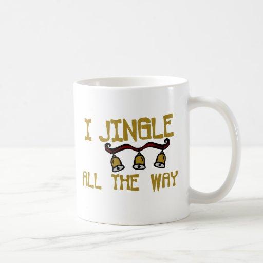 Cascabeleo hasta el final taza de café