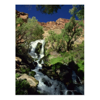 Cascada 2 tarjetas postales