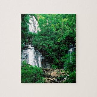Cascada Ana Chattahoochee de rubíes Georgia Rompecabezas Con Fotos