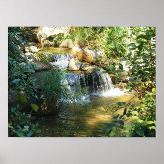 Cascada bonita posters