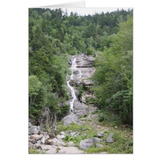 Cascada, cascada de plata felicitaciones