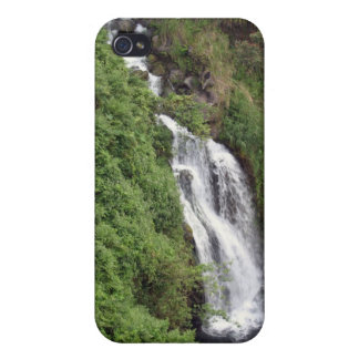 Cascada cerca de Hilo Hawaii - caso del iPhone 4 iPhone 4/4S Fundas