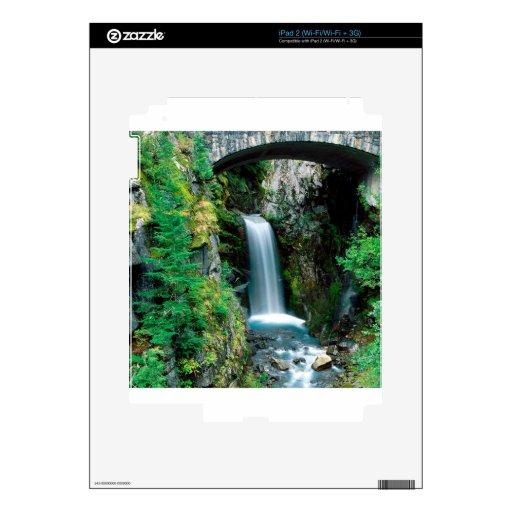 Cascada Christine el Monte Rainier Skins Para eliPad 2