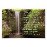 Cascada con verso del 7:17 del Rev. Arte Con Fotos