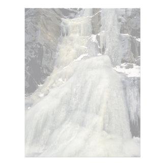 Cascada congelada, Colorado Membrete