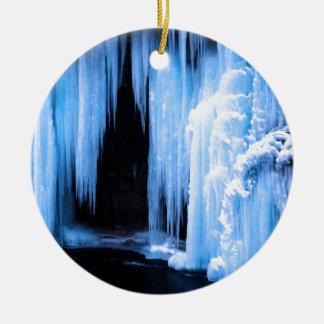 Cascada congelada ornamentos para reyes magos