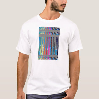 Cascada CricketDiane del arco iris de la banda del Playera