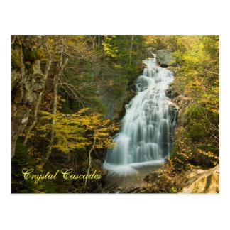 Cascada cristalina, postal    del NH