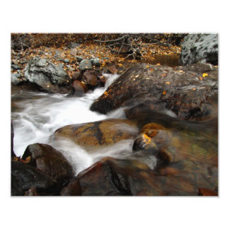 Cascada de Alaska del otoño del AAW Impresion Fotografica