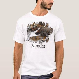 Cascada de Alaska del otoño del AAW Playera