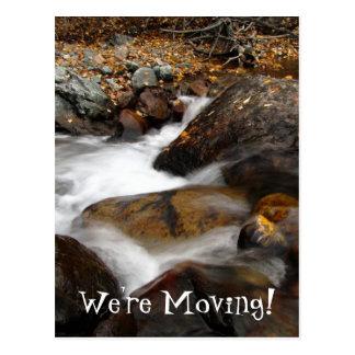 Cascada de Alaska del otoño del AAW Postal