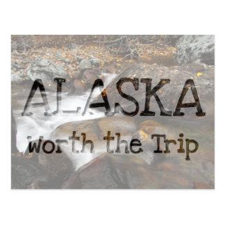 Cascada de Alaska del otoño del AAW Postales