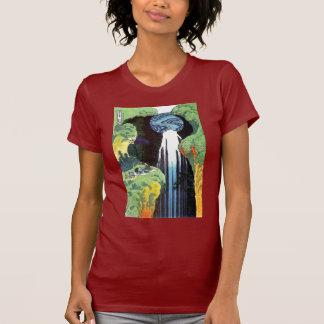 Cascada de Amida en el camino de Kisokaido Camisetas