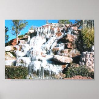 Cascada de Arizona Poster
